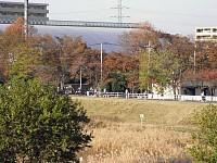 四谷橋からのランナー軍団