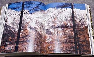ミヤマシロチョウの項。秋から冬へ(2)。新雪の穂高