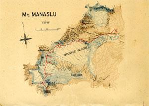 マナスルの地図 872KB