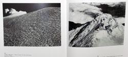 「初頭の浅間山」「新雪の鹿島槍ヶ岳」