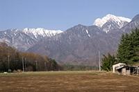 真原から甲斐駒とアサヨ峰