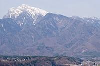 釜無川からの甲斐駒
